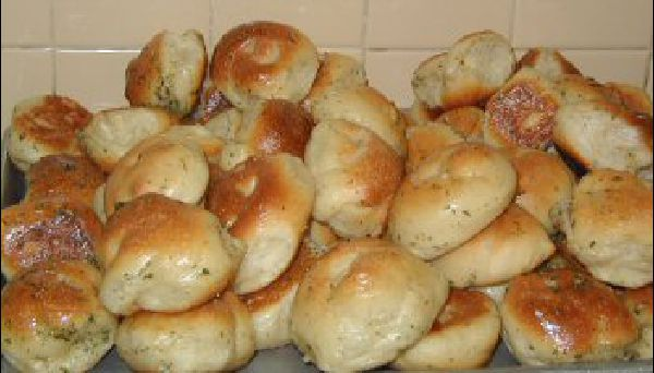 All of our bread, rolls and garlic knots are baked fresh daily in our restaurant